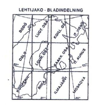 Suomija 1:1000000