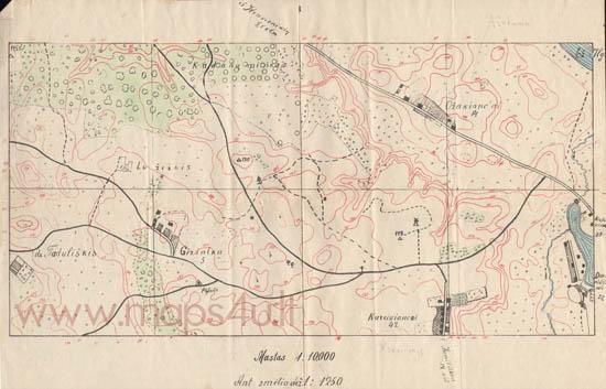Karo topografų žemėlapis