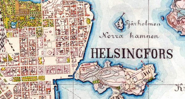 1:21000 Finland VI-30 Helsingfors