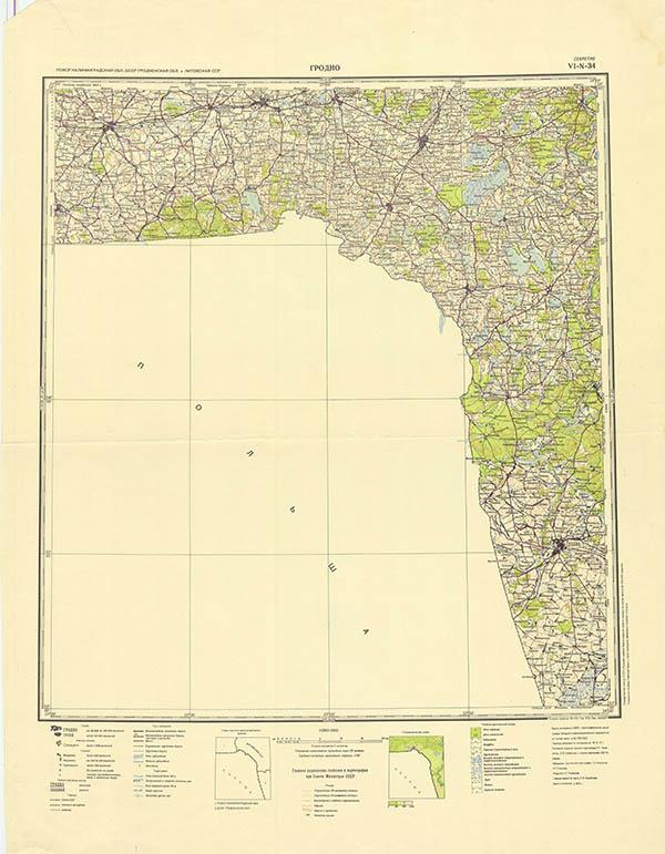 карта 1:300000