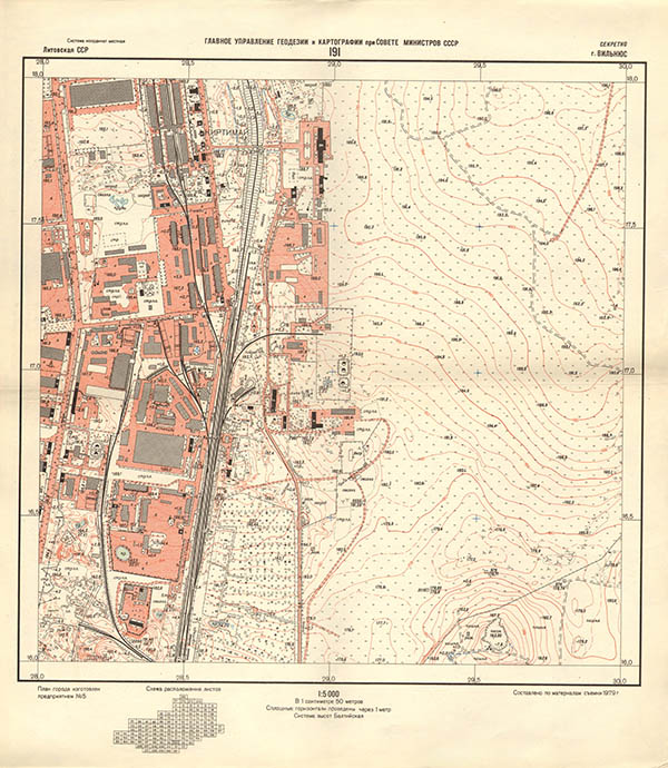 Vilniaus žemėlapis