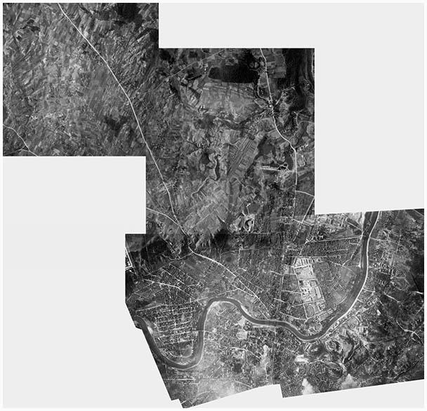 Vilnius 1944 aerofotografija