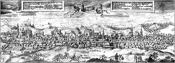 Vilnius graviūra