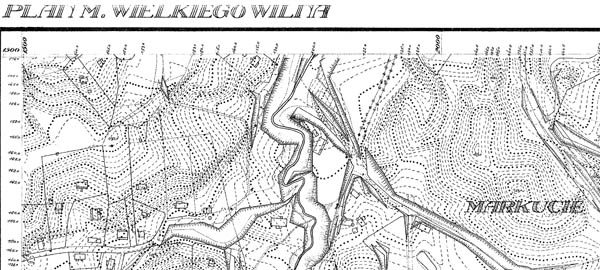Plan miasta wielkiego Wilna