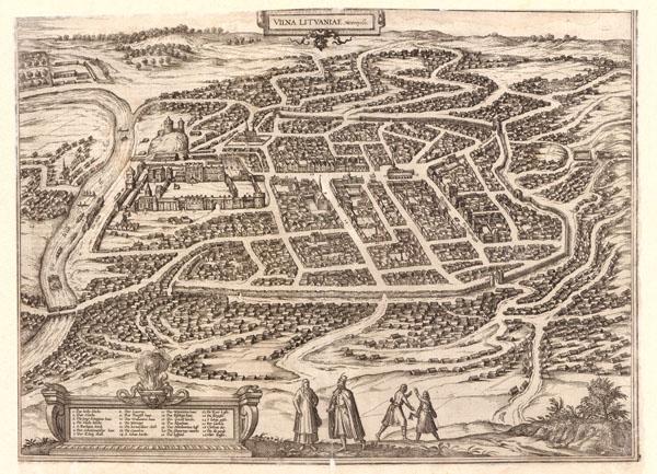 Vilna metropolis 1583