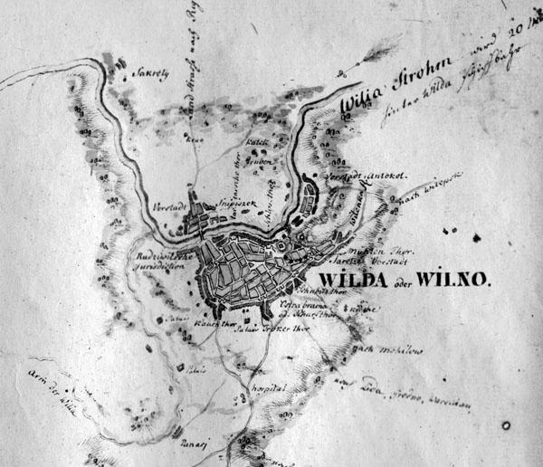 Vilda od. Wilna 1776