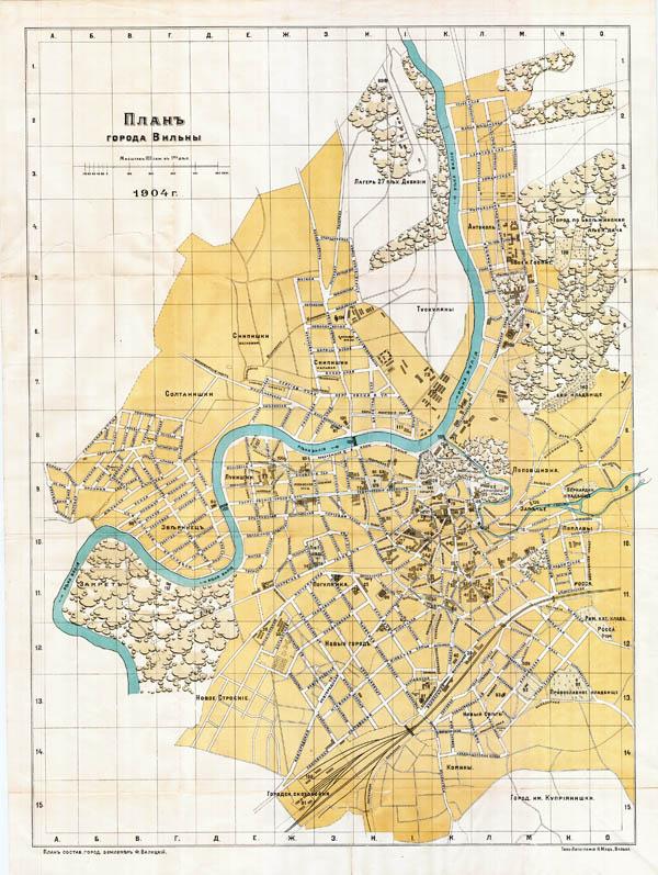 Vilniaus planas 1904