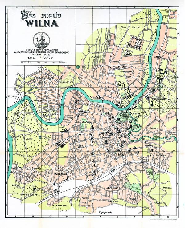 Vilniaus planas 1935
