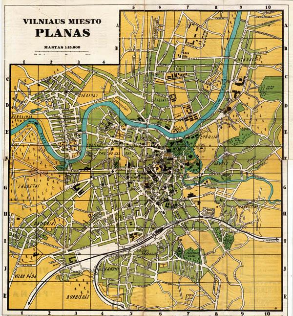 Vilniaus planas 1940