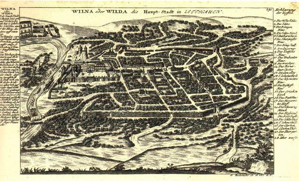 G.Bodenehr Wilna oder Wilda