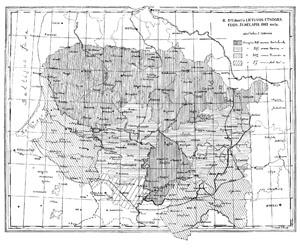 Lietuvos etnografijos žemėlapis