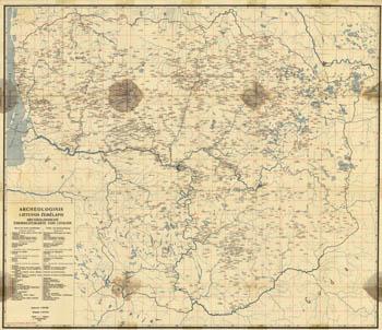 Tarasenka Lietuvos piliakalniai 1928