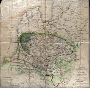 Žemėlapis Lietuviškai Latviško krašto