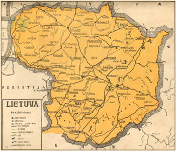 Lithuania 1933