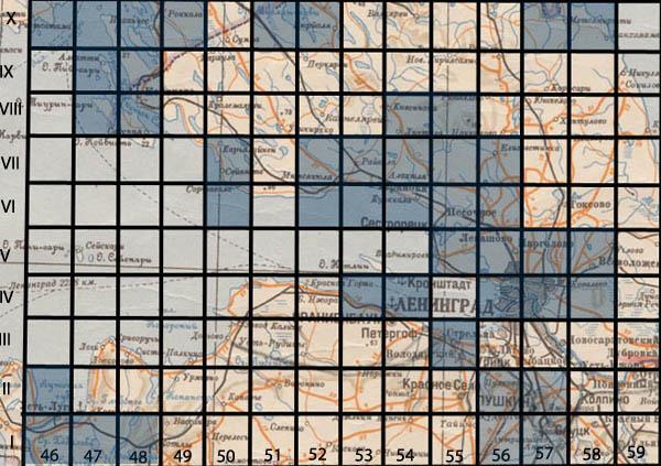 карта западного пограничного пространства