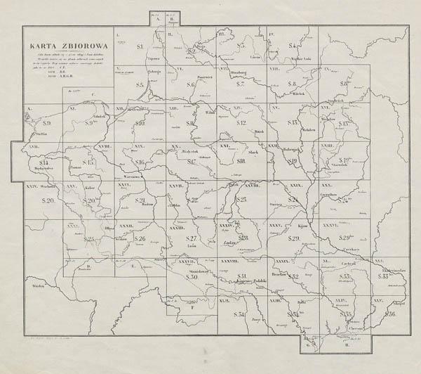 Карта Хржановского 1859