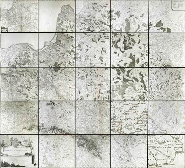Regni Poloniae, Magni Ducatus Lituaniae Nova Mappa Geographica concessu Borussorum Regis