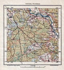 Gaižiūnų Poligonas 1933